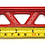 Thumbnail: KODE *Small* Battery Tie Down Clamp Ladder-Red