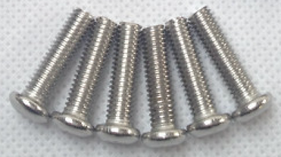 6pcs of Silver Bolts for Steering wheel