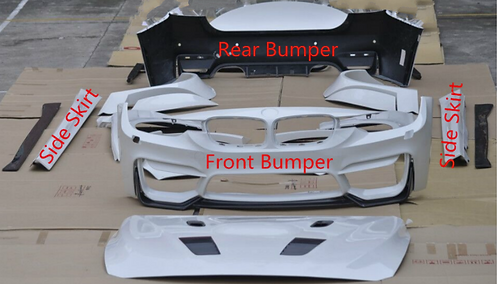 BMW F30 3 Series Body Kit Front/Rear Bumper Side Skirts