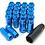 Thumbnail: 1.25 Extended Long Steel Wheel Lug Nut-BLUE