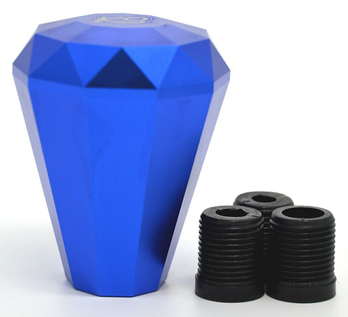 Kode Shop-Blue Diamond Shape Billet Gear Knob Screw On Fitment 70m