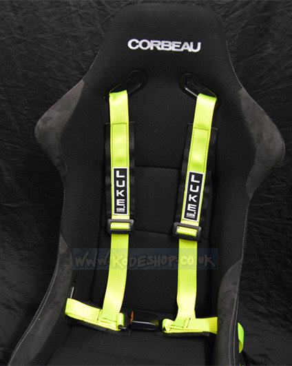 GM4-Sports Road/Track Day Harness Flu. Yellow