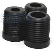 Kode-Gear Knob Adaptor 3pcs Set For Threaded Screw Type Of Fitment Gear Knob