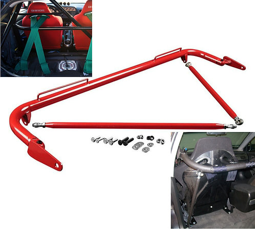 Kode Shop-Universal Red Harness Bar Safety Track Day Street Bucket Sea