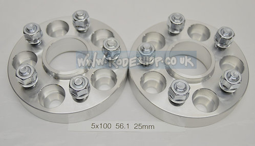 5x100 56.1 30mm M12x1.25 Wheel Spacer GT86 Subaru