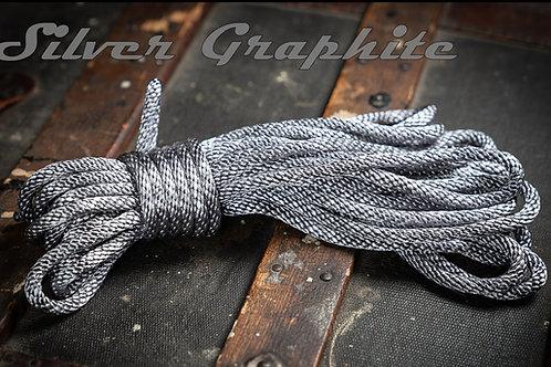 Silver Graphite- Nylon Shibari Rope