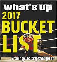 What's Up Magazine 2017 Bucket List