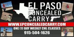 El Paso Concealed Carry
