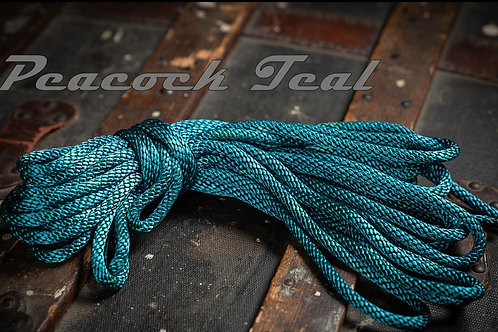 Peacock Teal- Nylon Shibari Rope