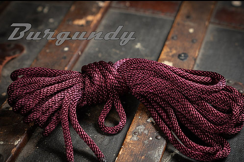 Burgundy - Nylon Shibari Rope