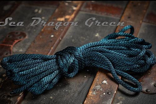 Sea Dragon Green - Nylon Shibari Rope