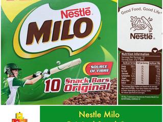Chewsday Review- Milo Original Snack Bar