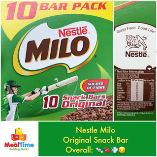 Chewsday Review- Milo Original Snack Bar
