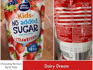 Chewsday Review- Dairy Dream Kids No Added Sugar Yogurt