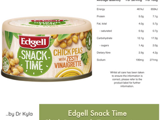 Chewsday Review– Edgell Snack Time tins