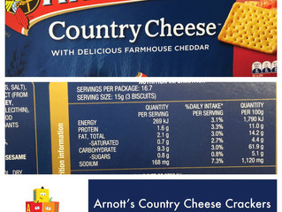 Chewsday Review- Country Cheese Crackers