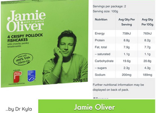 Chewsday Review- Jamie Oliver parsley fish cakes