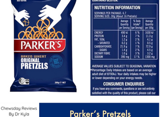Chewsday Review – Parker's Pretzels