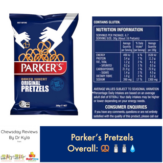 Chewsday Review – Parker's Pretzels