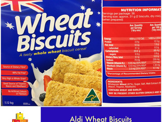 Chewsday Review- Aldi Wheat Biscuits