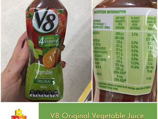 Chewsday Review- V8 Vegetable Juice
