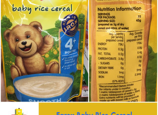 Chewsday Review- Farex Baby Rice Cereal