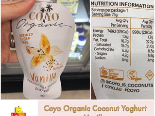 Chewsday Review- Coyo Vanilla Coconut Yoghurt
