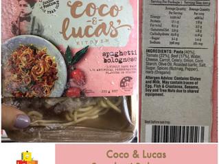 Chewsday Review- Coco & Lucas Spaghetti Bolognese