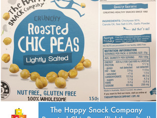 Chewsday Review- Roasted Chic Peas (lightly salted)