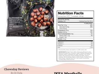 Chewsday Review- Ikea Meatballs