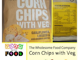 Chewsday GUEST Review – The Wholesome Food Company's Corn Chips with Veg