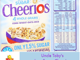 Chewsday Review- Low Sugar Cheerios