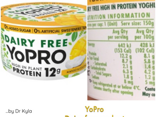 Chewsday Review- YoPro Dairy Free Yoghurt