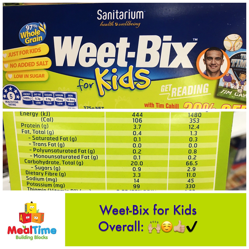 Weet-Bix for Kids