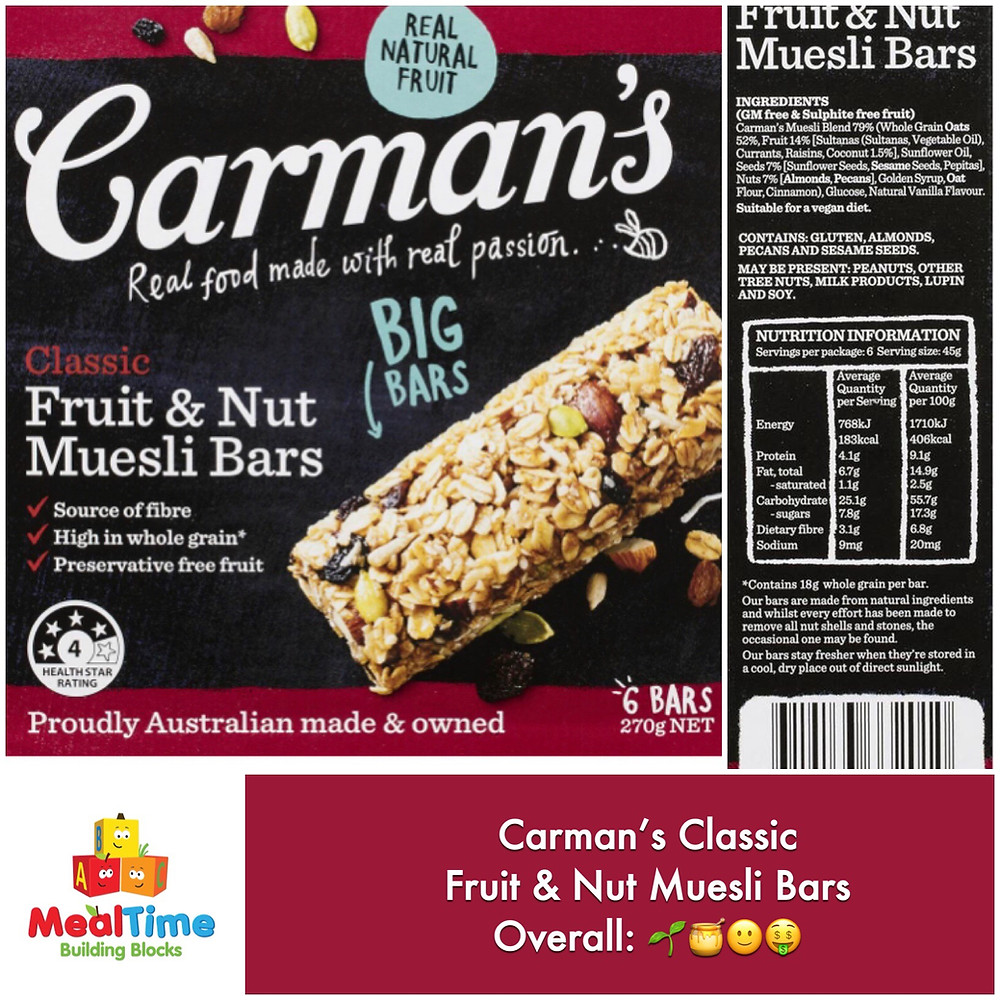 Chewsday Review Carman's