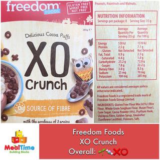 Chewsday Review- Freedom Food XO Crunch