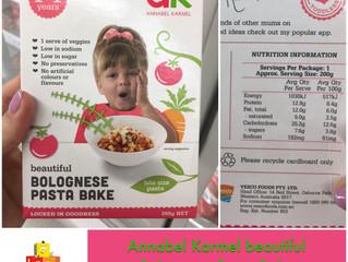 Chewsday Review- Annabel Karmel Bolognese Pasta Bake