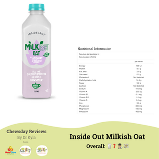 Chewsday Review- Inside Out Milkish Oat