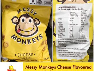 Chewsday Review- Messy Monkeys Wholegrain Bites