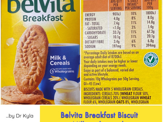 Chewsday Review- Belvita Breakfast Biscuits