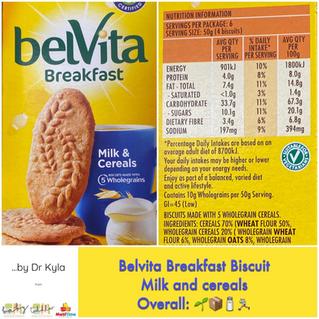 Chewsday Review- Belvita Breakfast Biscuits