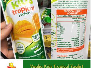 Chewsday Review- Vaalia Kids yoghurt