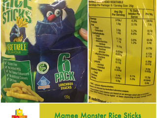 Chewsday Review- Mamee Monster Rice Sticks