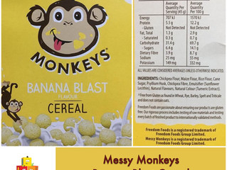 Chewsday Review- Messy Monkeys Banana Blast Cereal