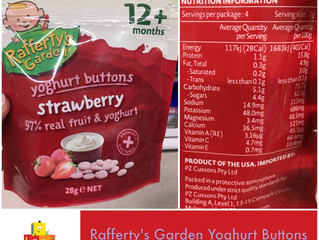Chewsday Review- Rafferty's Garden Yoghurt Buttons