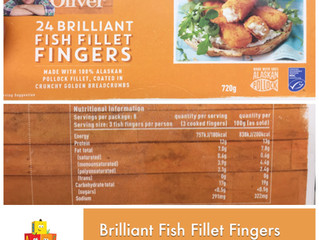 Chewsday Review- Jamie Oliver's Brilliant Fish Fillet Fingers