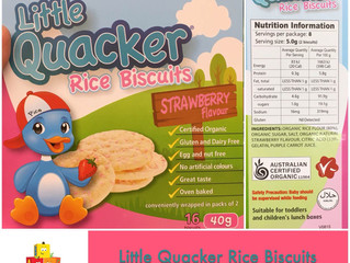 Little Quacker Rice Biscuit- Chewsday Review