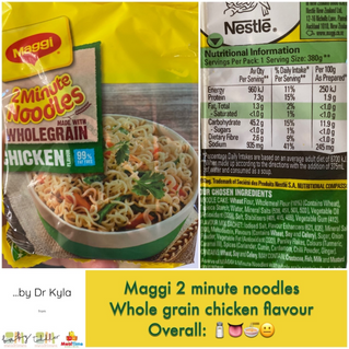 Chewsday Review- Maggi 2 Minute Noodles