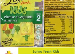 Chewsday Review- Latina Fresh Kids Ravioli