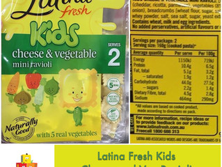 Chewsday Review- Latina Fresh Kids Ravioli